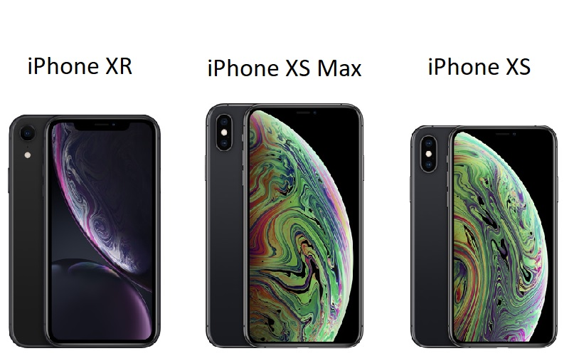 iphone xr and iphone xs max