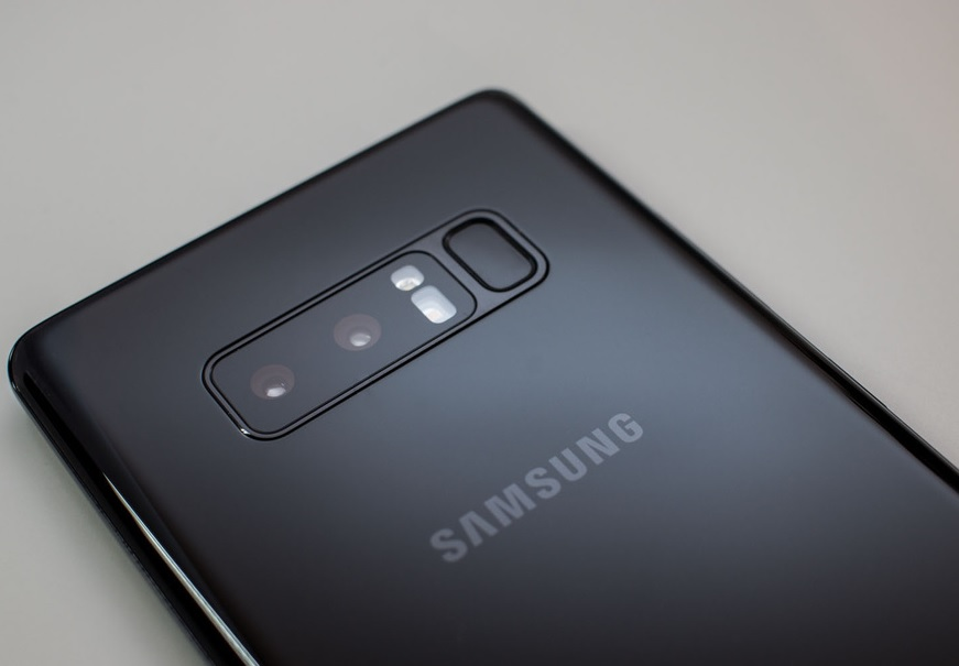 Galaxy Note 8 камера