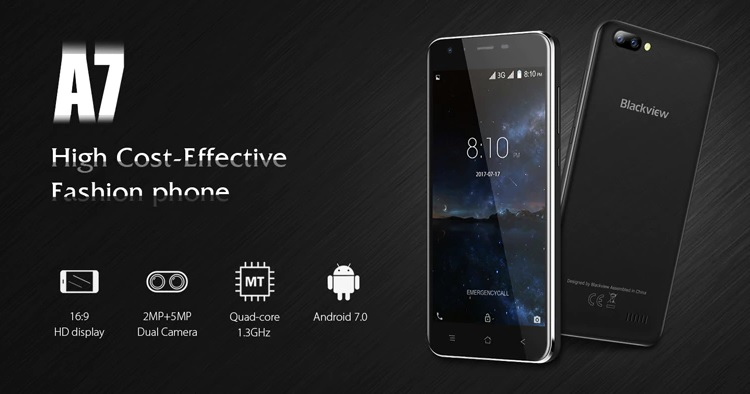Blackview A7 характеристики