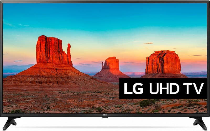 4K телевизор lg tv 43 uk6200