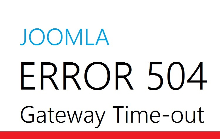 Ошибка 504 gateway time-out